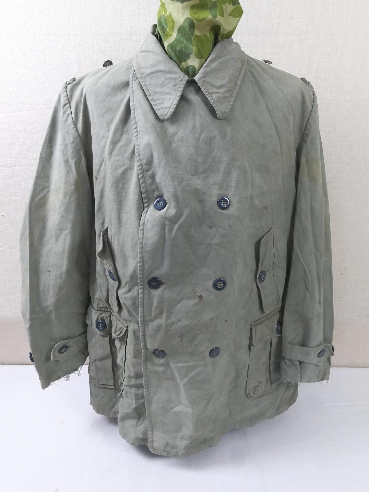 Details zu WW2 Wehrmacht Gebirgsjäger Jacke Windjacke Uniform Anorak alt aus Sammlung 5052